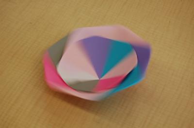 ハート 折り紙:折り紙でコマ-cc-net.or.jp